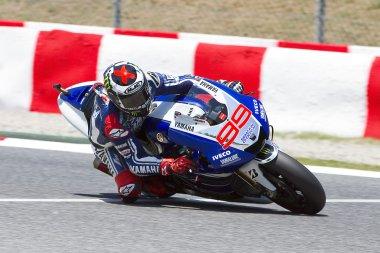 Jorge Lorenzo racing