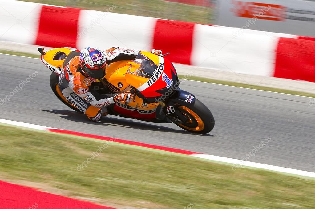 Casey Stoner racing – Stock Editorial Photo © natursports #40299855