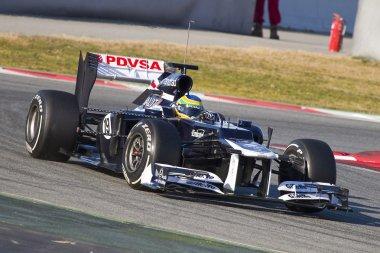 Bruno Senna of Williams F1