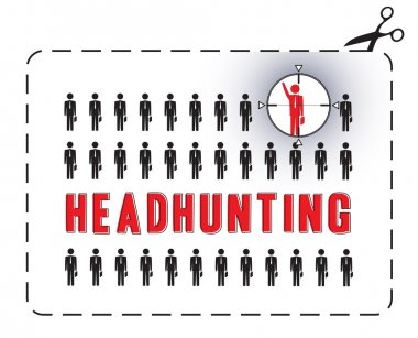 Headhunting poster