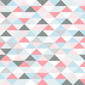 Fotografia modello retrò di forme geometriche. triangoli di colore pastello