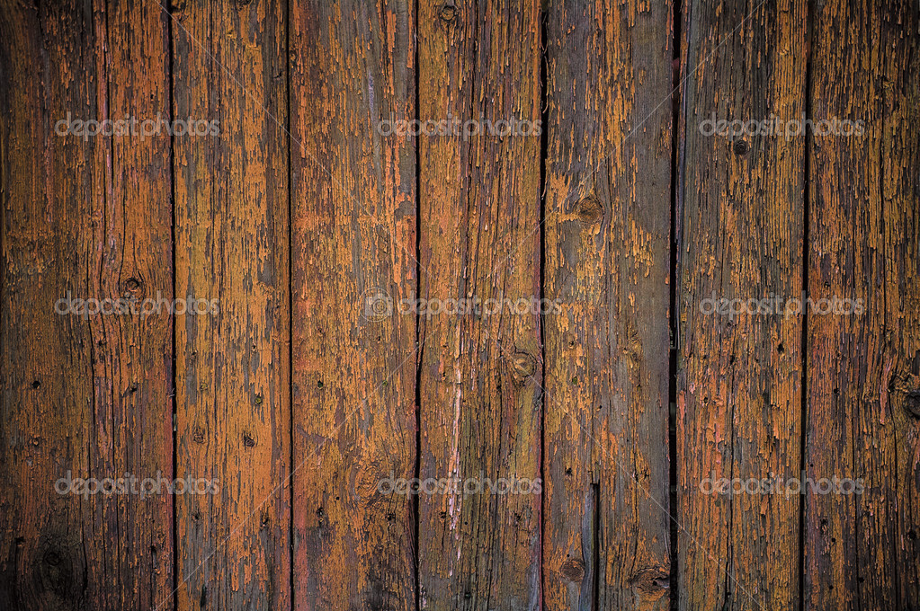 Background Grungy Texture Of An Old Wooden Fence Painted In Golden (see  Portfolio For Other Colors) U2014 Photo By Edarchinyan