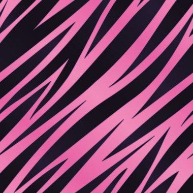 Pink Zebra Stripe Background