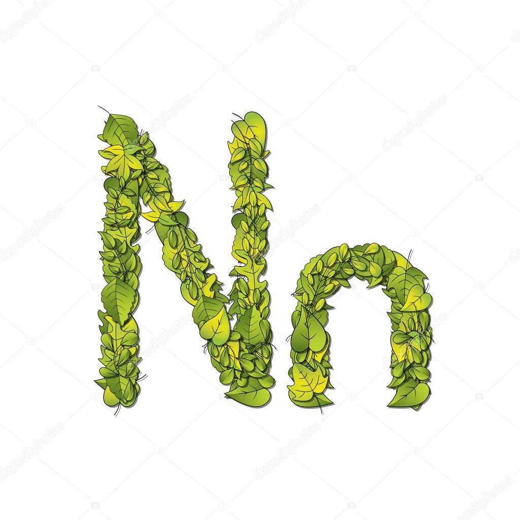 Leaf Font N