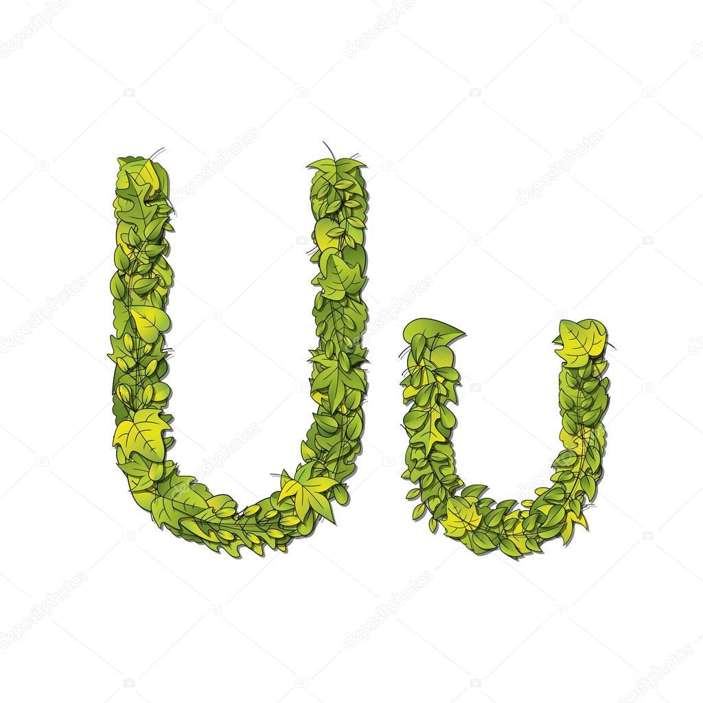 Leaf Font U