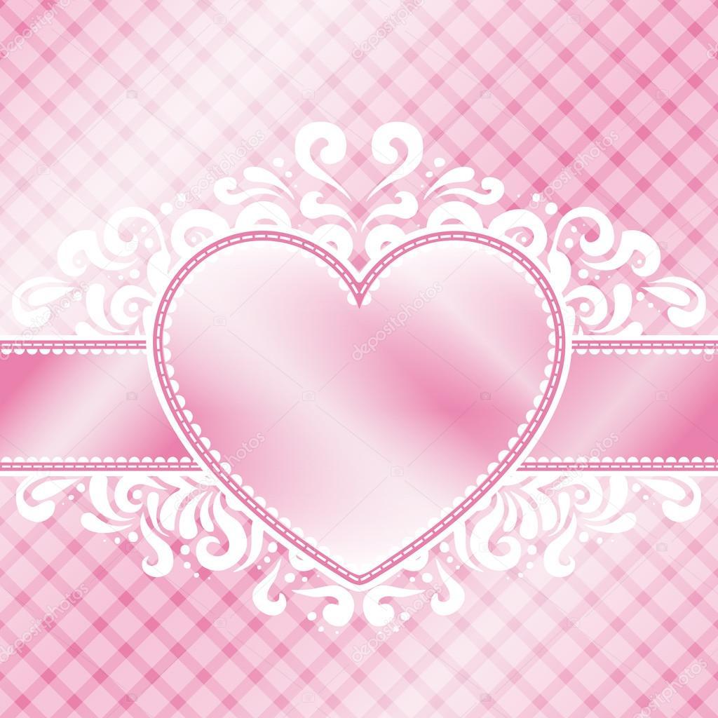 Pink Valentine Design