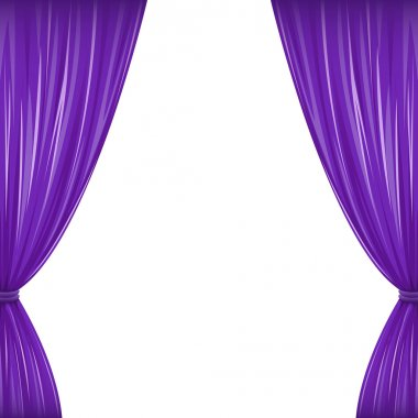 Purple Curtains