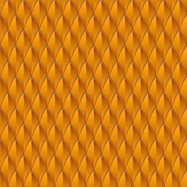 Orange Reptile Skin