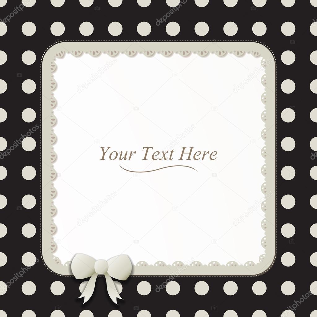 Square Polka Dot Frame — Stock Vector © AvelKrieg #41151753