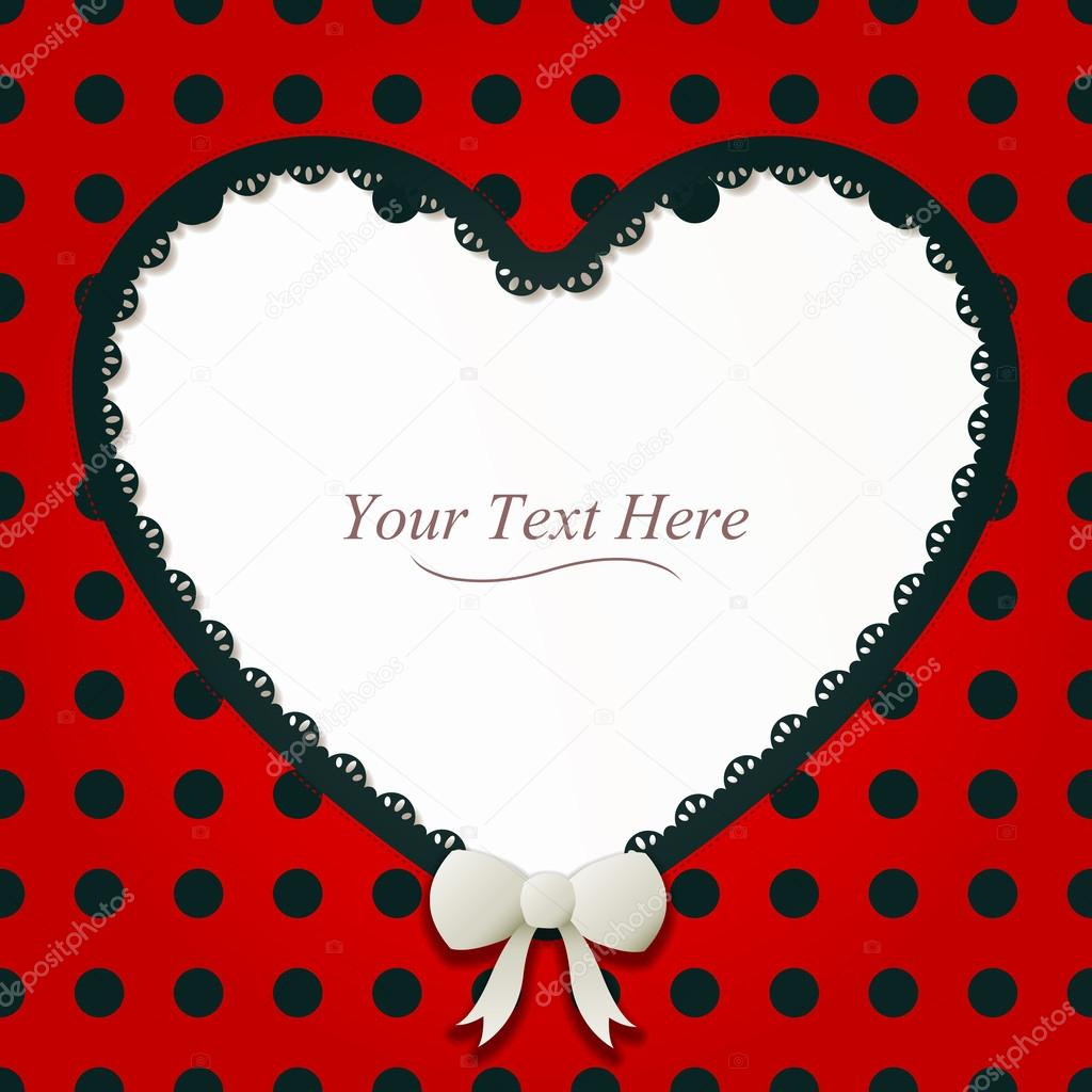 Heart-Shaped Ladybug Frame — Stock Vector © AvelKrieg #43008871