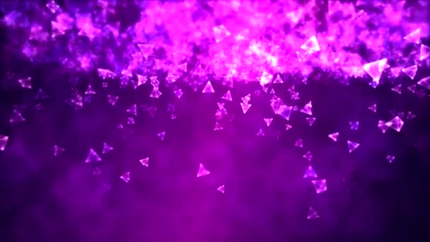 Abstract Triangle Background Animation - Loop