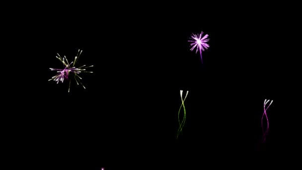 színes tűzijáték