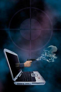 Web crime novel