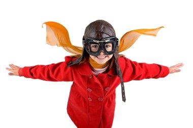Girl pilot