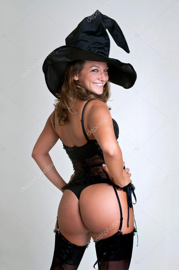 Sexy witch — Stock Photo © luislouro #26842573