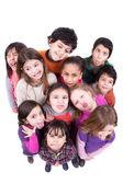 a gyermek a pofákat csoport