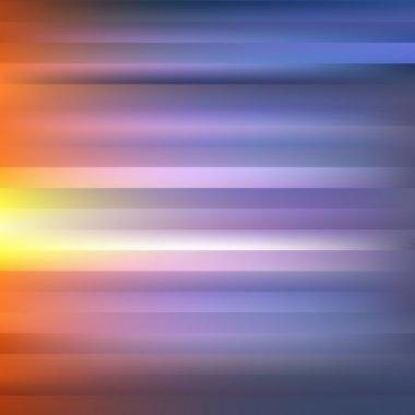 Orange-Violet Abstract Striped Background.