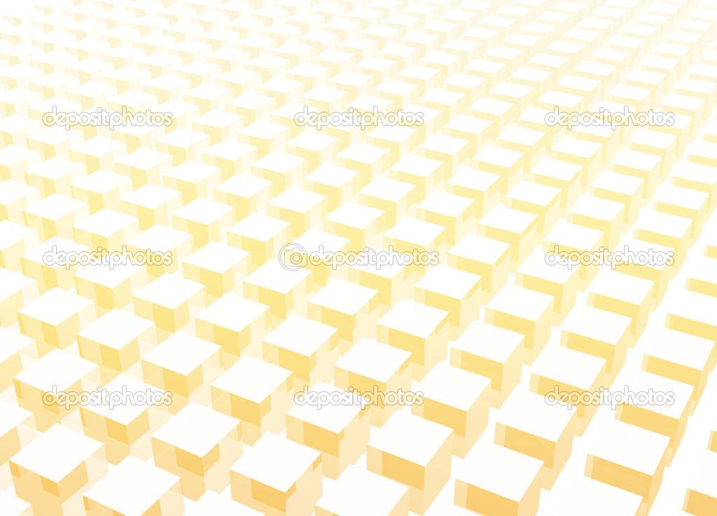 einfache und saubere Block 3d abstrakt — Stockfoto © kentoh #23811239