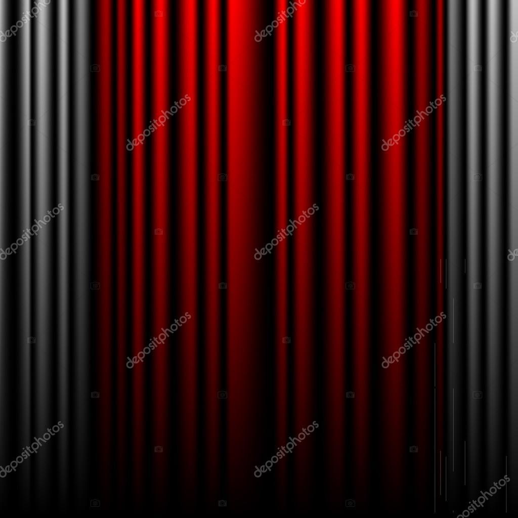 ferm les rideaux de th tre rouge et gris image vectorielle ifeelgood 24000273. Black Bedroom Furniture Sets. Home Design Ideas