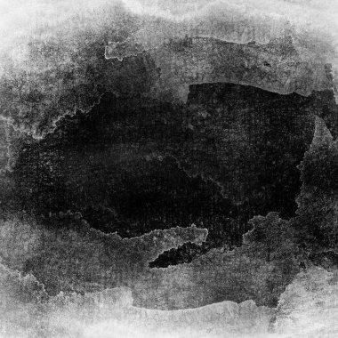 Gray-scale watercolor macro texture background.