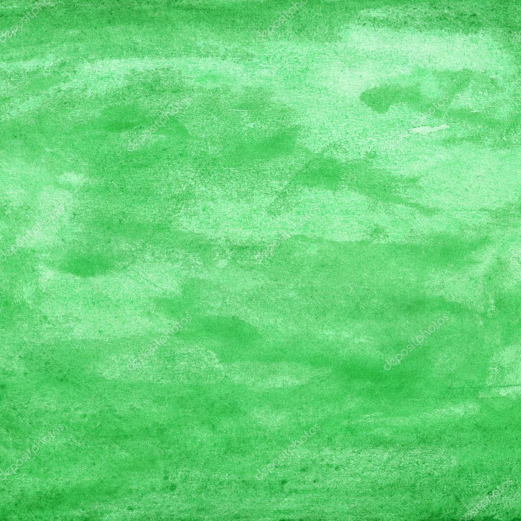 Toile De Fond Une Texture Vert Aquarelle Fond De Couleur Aquarelle