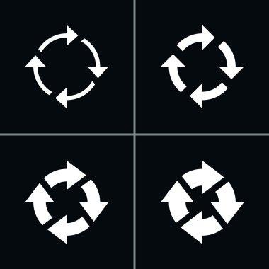 4 arrow  refresh reload rotation loop sign