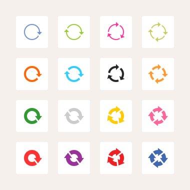 16 arrow pictogram refresh reload rotation loop