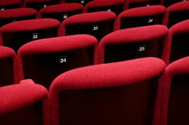 movie theatre empty