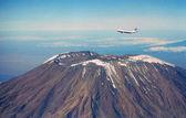 Fotografia 747 sovraccarico Monte kilimanjaro in africa