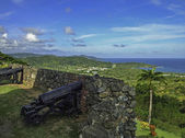 Fort King George in Scarborough in Tobago
