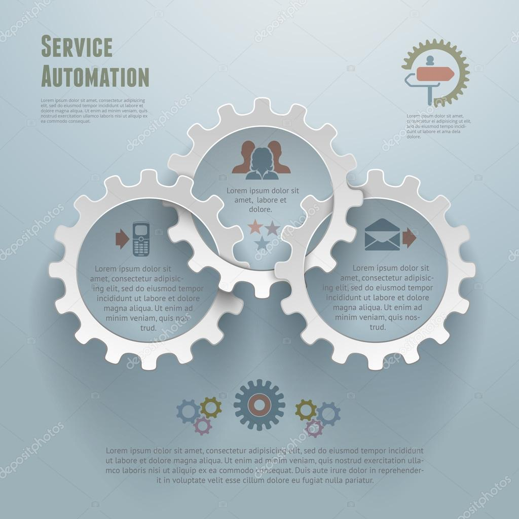 Automation Infographic Conecpt