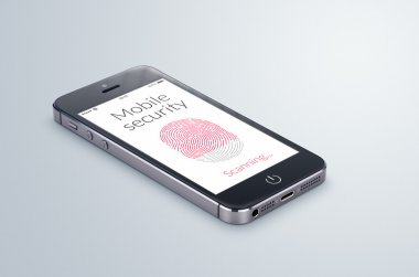 Mobile security fingerprint scanning is on the modern smartphone