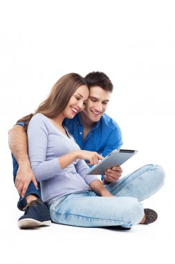 Couple digital tablet