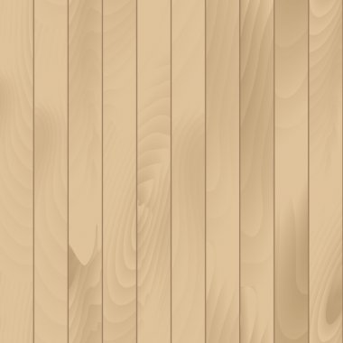 Vector Seamless Wood Plank Texture Background