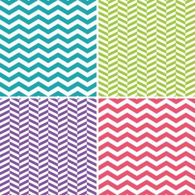 Seamless Zigzag (Chevron) Pattern