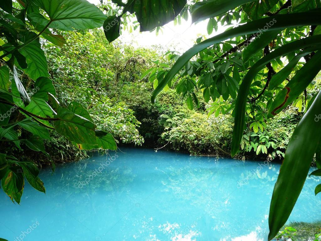 Incredible blue lagoon