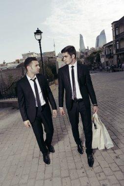Purchase of businessmen,shopping guys