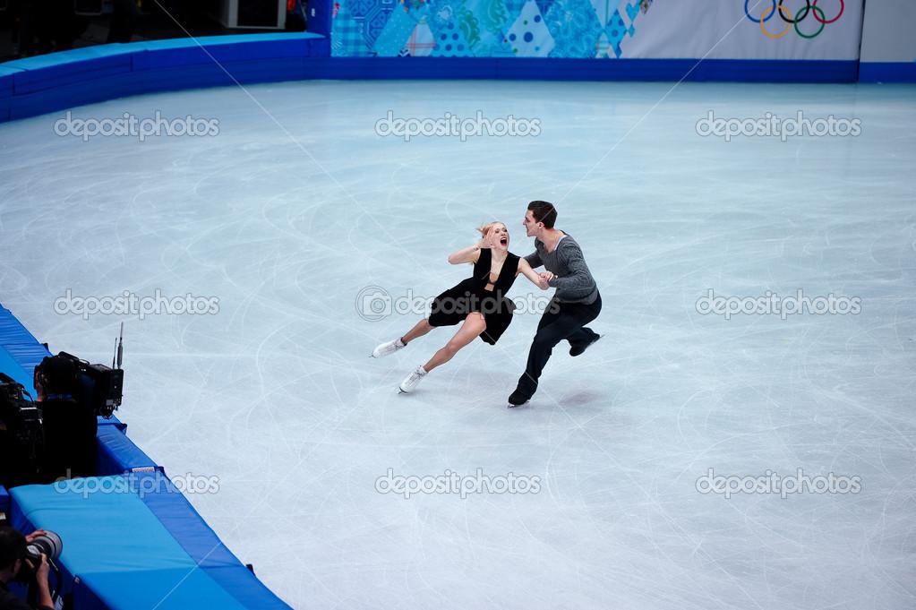 Ekaterina Bobrova Y Dimitri Soloviev En Los Juegos De Olimpicos De