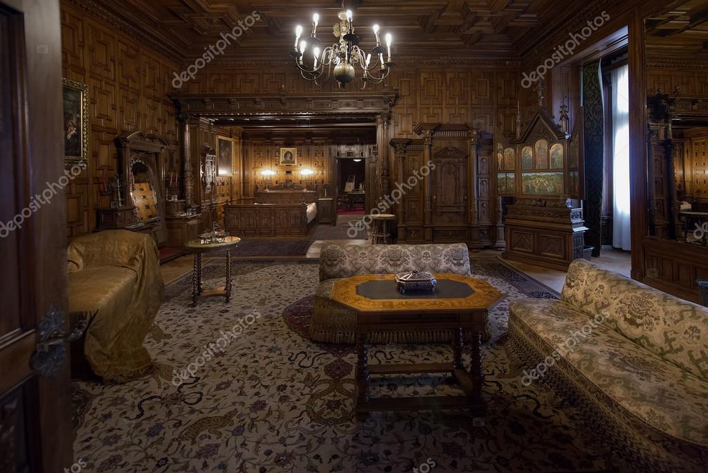 pelisor kasteel interieur – Redactionele stockfoto © foto200 #50930651
