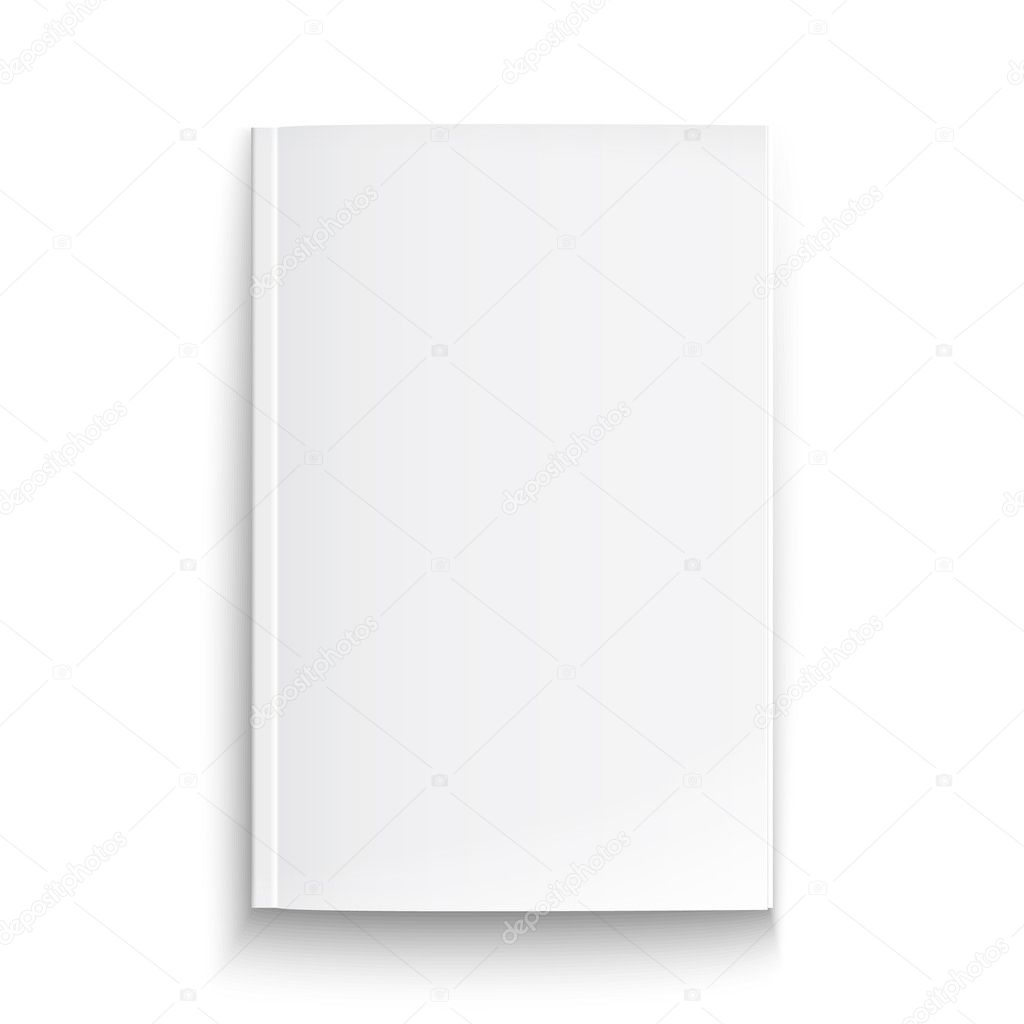 White Book On The White Background Vector Pics Stock Photos All Sites
