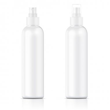 White sprayer bottle template.