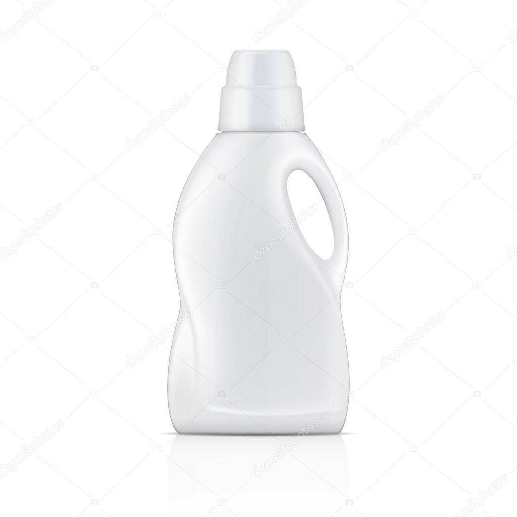 Blanc bouteille de d tergent lessive liquide image for Lessive en poudre ou liquide