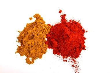 Paprika and pepper powder