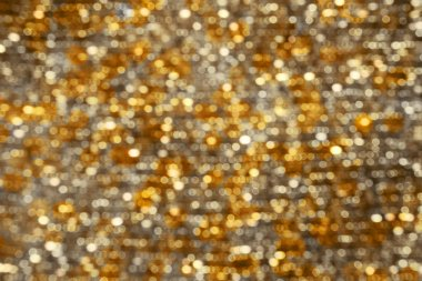 Abstract Bokeh Background Gold Silver