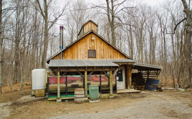 Sugar shack in Quebec