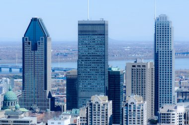 View of Montreal Skyscrapers