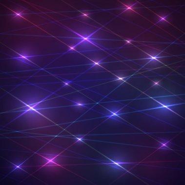 Laser glowing background