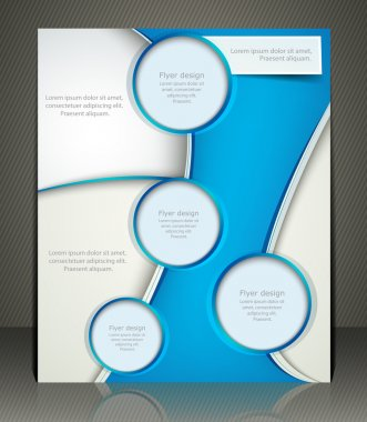 Vector layout business flyer, magazine cover, or corporate design template advertisment