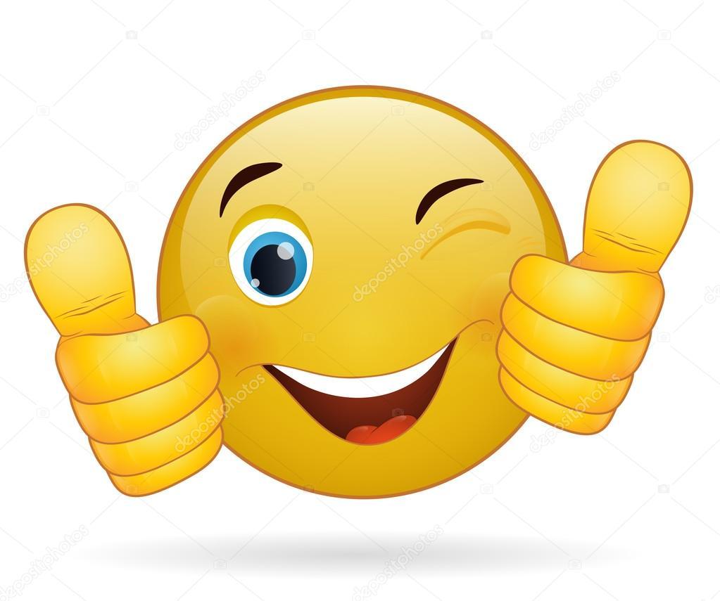 Afbeeldingsresultaat voor smiley duim omhoog