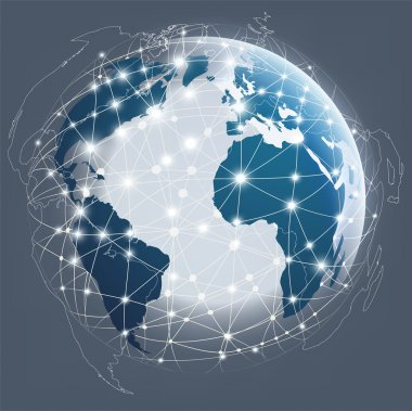 Globe digital connection, Digital communications